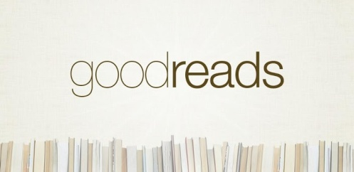 The classic logo of the Goodreads website.
