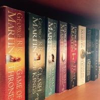 Game of Thrones shelf
