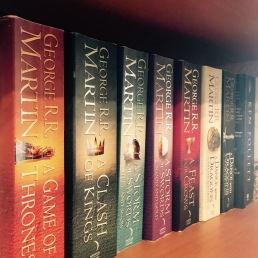 Game of Thrones shelf