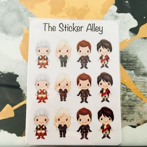 The Sticker Alley TYACF16