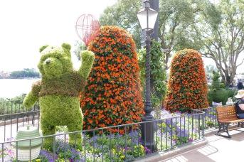 Winnie the Pooh Topiary
